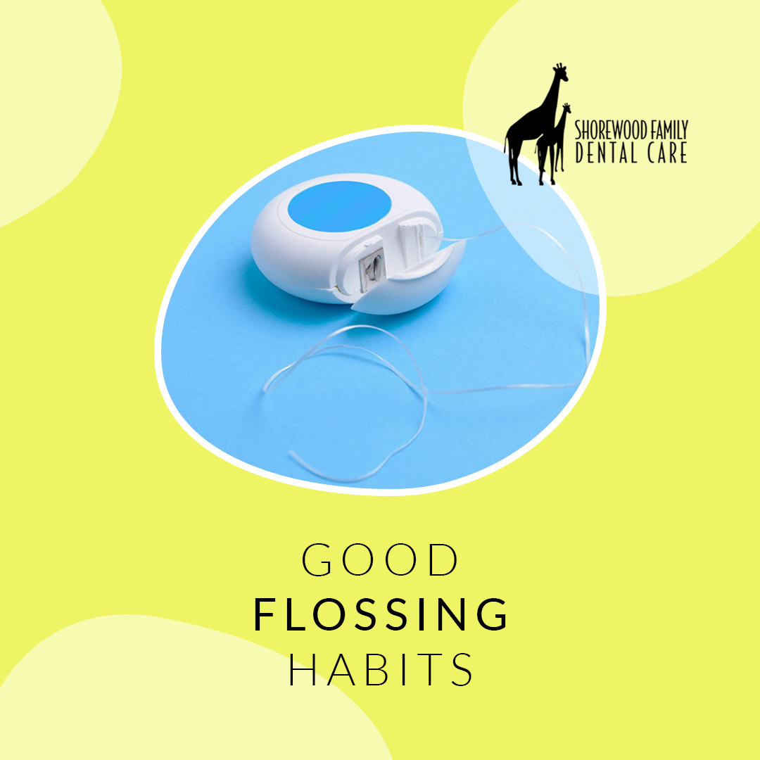 tips to improve flossing habits