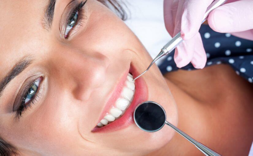 Young Woman Getting Her Dental Checkup at the Best Dentist Near Rockdale