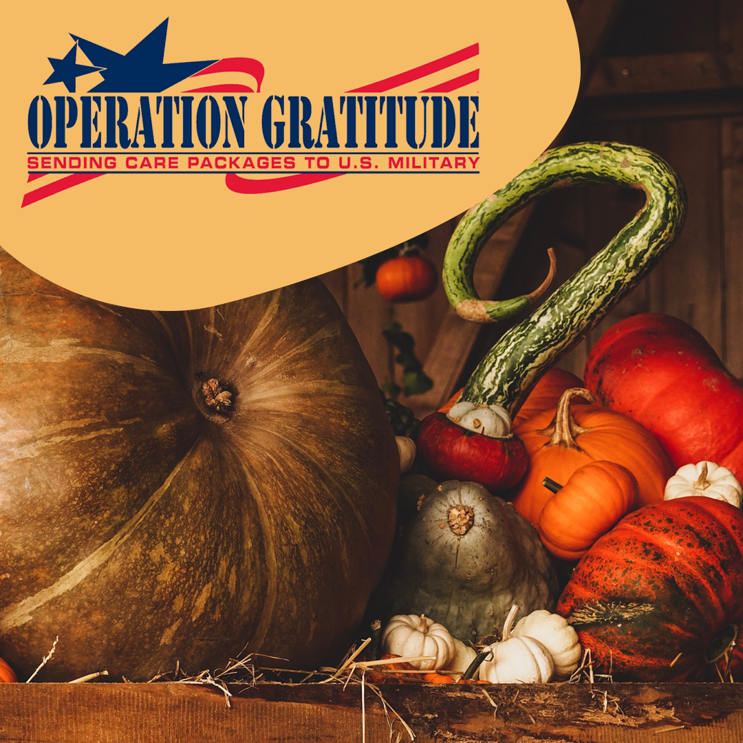 general dentist near joliet participating in the Operation Gratitude charity