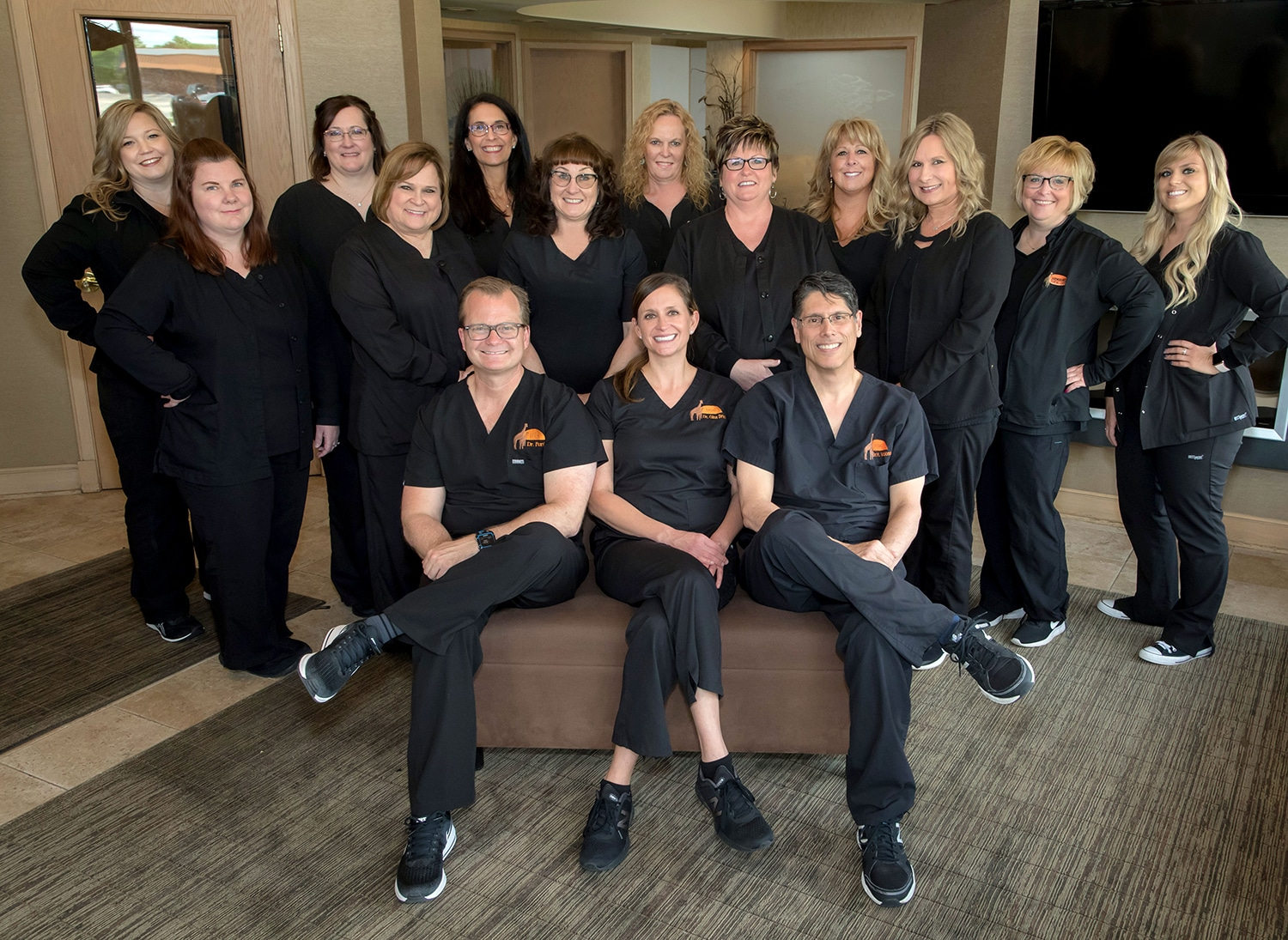 The Administrative Team and Doctors at Joliet Family Dental Care